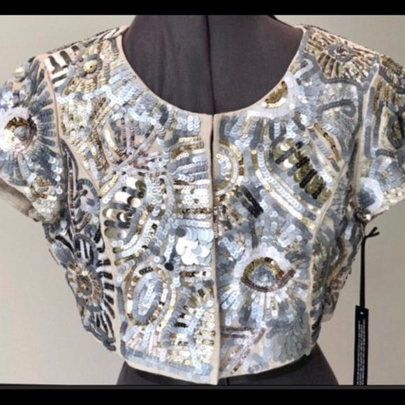 9644dcd47d90 White House Black Market Jackets & Coats | Nwt Whbm Metallic ...